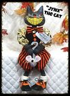 "~Primitive Raggedy HALLOWEEN ""JYNX the Black Cat w/MOUSE ""~PATTERN #464"