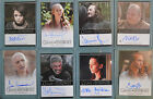 Cersei Sansa Arya Stark Spice King Qhorin Pyat Pree Game of Thrones 2 Auto Card
