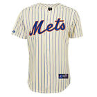 New York Mets Home Ivory Pinstripe MLB Replica Jersey