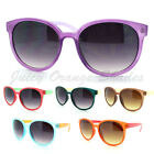 Cute Round Sunglasses 2 Tone Colors Hot Womens Fashion 6 Colors