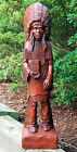 Cigar Store Indian Figurine Master Carvers Reproduction ~ Choice of Finish