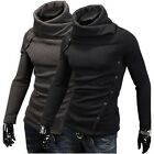 2013 New Mens Fashion Hoodies Style Top Design Turtleneck Pullover Sweater MJ03