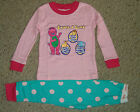 NIP Barney Loves To Play Games Pajamas Set Size's 2T, 3T, 4T, 5T, 6T, 7T