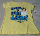 Duck Dynasty Uncle Si Thats A Fact Jack  Girls (XS/S/M) Yellow With Glitter