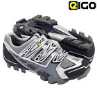 Eigo EPSILON Mountain Bike Off Road Cycling Black Velcro Shoes 37 to 47
