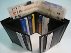 Gents Leather Bill Fold Wallet for 16 Cards Card Bifold Lorenz Bilfod