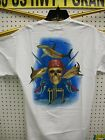 GUY HARVEY PIRATE SHARK BTH1315 WHITE