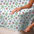 Demetra Flowers Fitted Sheet - SoulBedroom 100% Cotton