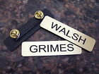 Rick GRIMES Name Tag Walking Dead OR Shane WALSH Name Tag