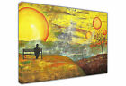 DUSK TILL DAWN SUNSET PRINTS CANVAS ART PICTURES WALL DECORATION ARTWORK POSTERS