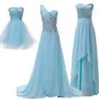 3 Style Sexy Strapless Prom Ball Gown Cocktail Party Evening Bridesmaid Dresses