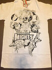 STAN LEE'S MIGHTY 7 Collage T-shirt **NEW comics comic