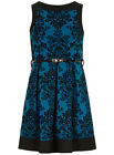 NEW PIPPA DEE DP VTG SKATER STYLE DAMASK PARTY PROM DRESS -3 COLOURS- SZ 10 - 20