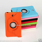 360° Rotating LEATHER CARRY COVER CASE STAND flip Samsung GALAXY Tab3 T210 T211