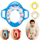 baby kids soft toilet Training seat cushion child with handle Chair Pedestal Pan