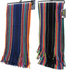 MENS MULTICOLOURED KNITTED SCARF GL345