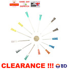 20x 50x BD Sterile Needles MULTI AUCTION 18G-27G Refill Ink FAST SHIPP CHEAPEST