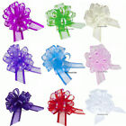 50mm, Organza Pull Bows, Decoration, Wedding, Cars, Pews Gift Wrap, Floristry