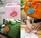 Luggage ID Suitcase Baggage Tag Travel Tag Name Tag Holder_ Flying Jelly Tag
