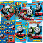 Thomas The Tank Engine Birthday Card Cards Male Relations & Age & Gift Paper