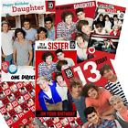 One Direction Card Cards Birthday Age Wrapping Female Relations