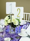 "Hortense Silver Wedding Table Number Stand Holder 12"" or 15"""