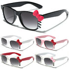 Hello Kitty Womens Ladies Sunglasses with Bow Party Glasses Black White Pink Red