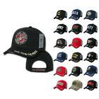 USA Veteran Military Army Air Force Navy Marines Coast Guard Baseball Hats Caps