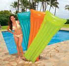 ★INTEX Inflatable Swimming Pool Float Lilo Lounger Air Bed 6 fts in 3 Colours