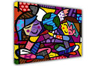 CHILDREN OF THE WORLD ROMERO BRITTO CANVAS WALL ART PRINTS / PHOTO CANVAS