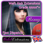 ♚♚ REMY Indian DELUXE Full Head Human REMI Hair Extensions WEFT #50 Cherry Red