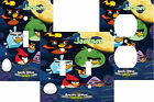 PERSONALIZED ANGRY BIRDS IN SPACE GANG LIGHT SWITCH PLATE COVER