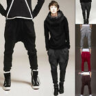 NWT Men Korean Stylish Fashion Casual Trousers Harem Loose Sports Pants Trousers