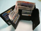 Soft Leather Ladies Purse Wallet with Double Credit Cards Sections for 17 Cards