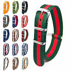 Nylon Watch Strap Band au Military Army Diver 16mm