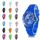 BRAND NEW JELLY BOYS GIRLS MENS WOMENS KIDS MANS WRIST WATCH RUBBER SILICONE