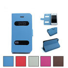 Leather Flip Case Cover Design For APPLE iPhone 5/5S +Free Screen Protector
