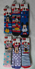 Disney Mickey/Minnie Mouse Slipper Socks with Grippers for Boys & Girls