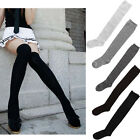 Sexy Women Girl Thigh High OVER the KNEE Socks Cotton Stockings 5 Colours