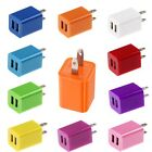 US Dual 2 Port USB AC Wall Charger Power Adapter for iPhone 5 5S 5C 4S iPod MP3