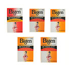 BIGEN PERMANENT HAIR COLOUR POWDER DYE - ALL COLOURS - FAST FREE POSTAGE!
