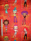 Trendy Girls & Betty Boop cotton quilting fabric **Choose your favourite design $17.5 AUD
