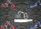 American Chopper Jet bike black widow motorcycle cotton quilting fabric *Choose