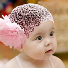 1Pc Baby Infant Girl Toddler Lace Headband Hair Bow Accessories Headwear