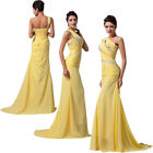 HOT Evening Wedding Bridesmaids Dresses Beaded Party Formal Prom Maxi Long Dress