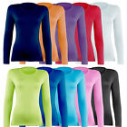 Rhino Womens Base Layer Sports Under Shirts Tops Armour Skins Thermal RH003