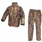 Jack Pyke English Oak Camo Hunter Jacket & Trousers Set Suit Stealth Waterproof