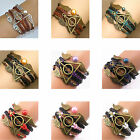 Harry Potter Style Deathly Hallows Golden Snitch Owl Bracelets New