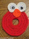 CAMERA LENS BUDDIES with Squeakers, Baby Photography Props, Elmo, Cookie Monster