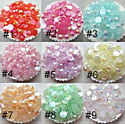 US Seller -- AB Jelly Resin Flatback Rhinestones ( Iridescent ) 11 colors choose